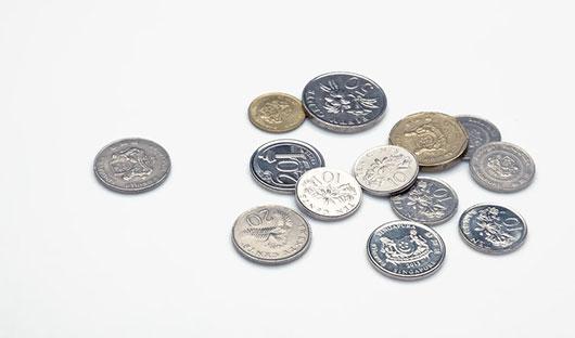 硬貨のイメージ写真